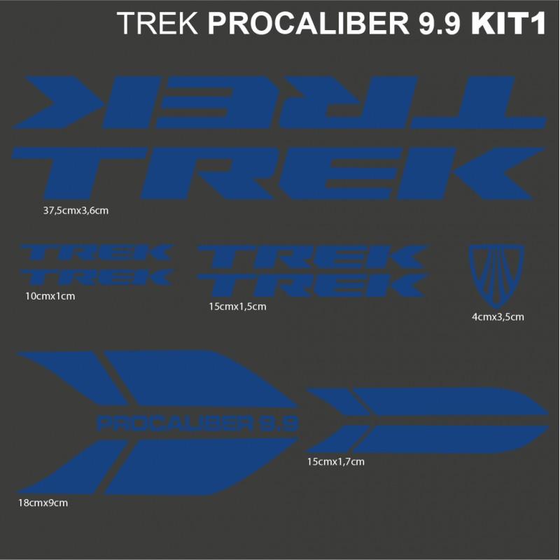 Trek Procaliber 9 9 Kit1 Pegatinas Para Bici Vinilos