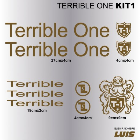 Terrible One Kit1