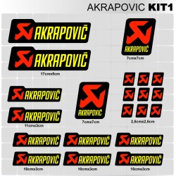 AKRAPOVIC Kit1
