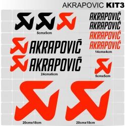 AKRAPOVIC Kit3