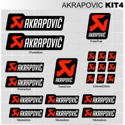 AKRAPOVIC Kit4