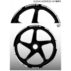 SUZUKI ADDRESS GP kit1