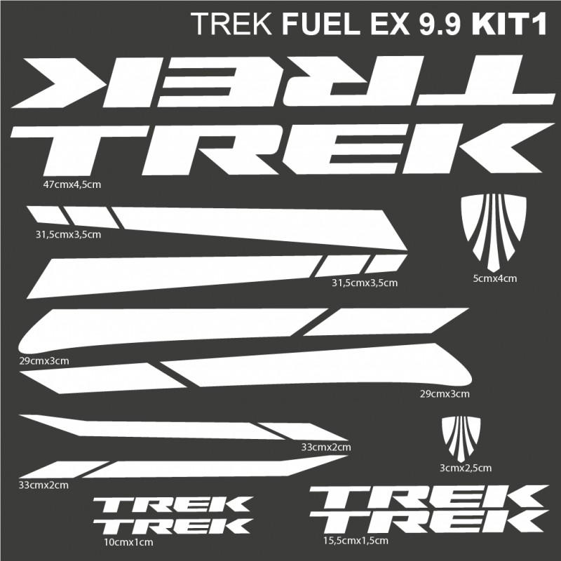 Trek Fuel Ex 9 9 Kit1 Stickers For Bike Vinyls Decals