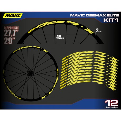 "Mavic DEEMAX ELITE MTB 27,5"" Kit"