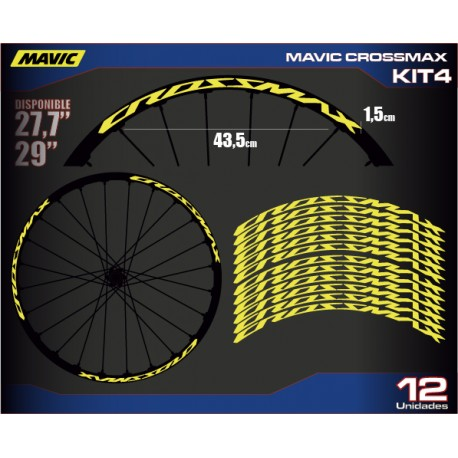 "Mavic CROSSMAX 29"" Kit4"