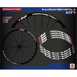 "FULCRUM RED METAL 5 29"" Kit1"