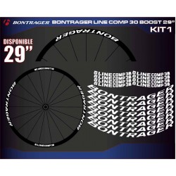 "BONTRAGER LINE COMP 30 BOOST 29"" KIT1"