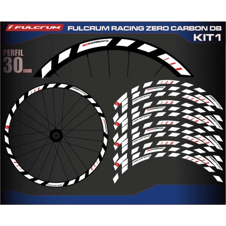 FULCRUM RACING ZERO CARBON DB KIT1