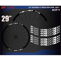 "DT SWISS X1900 SPLINE 29"" KIT1"