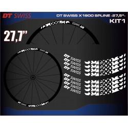 "DT SWISS X1900 SPLINE 27,5"" KIT1"
