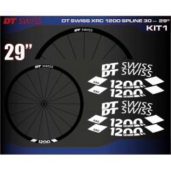 "DT SWISS XRC 1200 SPLINE 30 - 29"" KIT1"