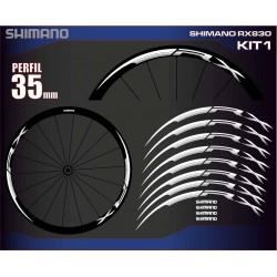 SHIMANO RX830 KIT1