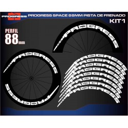 PROGRESS SPACE 88MM PISTA DE FRENADO KIT1