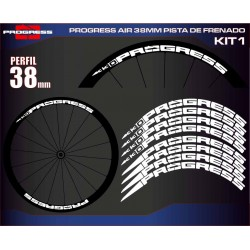 PROGRESS AIR 38MM PISTA DE FRENADO KIT1