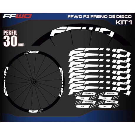 FAST FORWARD F3 FRENO DE DISCO KIT1