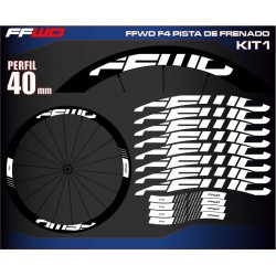 FAST FORWARD F4 PISTA DE FRENADO KIT1