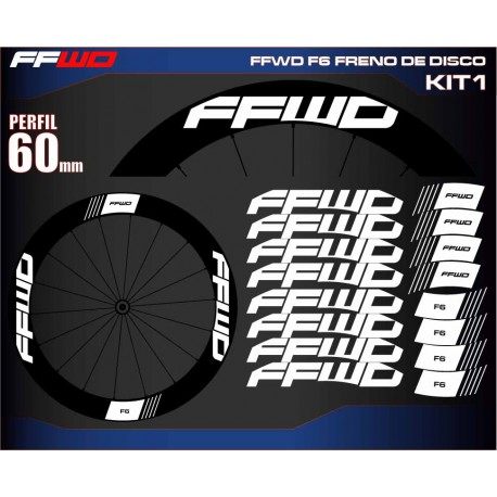 FAST FORWARD F6 FRENO DE DISCO KIT1