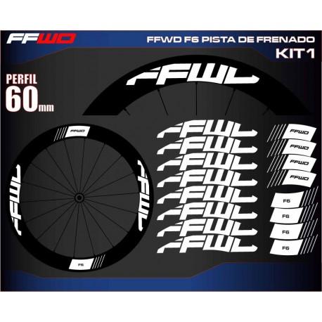 FAST FORWARD F6 PISTA DE FRENADO KIT1
