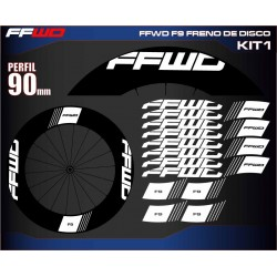 FAST FORWARD F9 FRENO DE DISCO KIT1