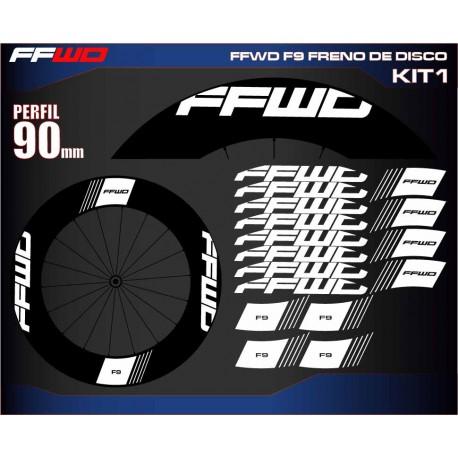 FAST FORWARD F9 FRENO DE DISCO KIT1