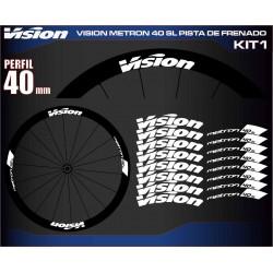 VISION METRON 40 SL PISTA DE FRENADO KIT1