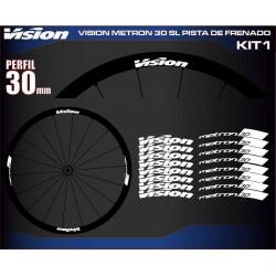 VISION METRON 30 SL PISTA DE FRENADO KIT1