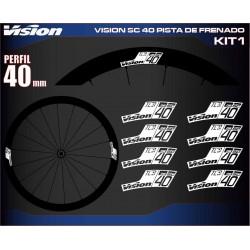 VISION SC 40 PISTA DE FRENADO KIT1