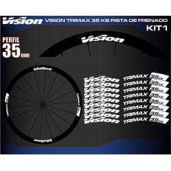 VISION TRIMAX 35 KB PISTA DE FRENADO KIT1