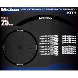VISION TRIMAX 25 KB PISTA DE FRENADO KIT1