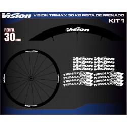 VISION TRIMAX 30 KB PISTA DE FRENADO KIT1