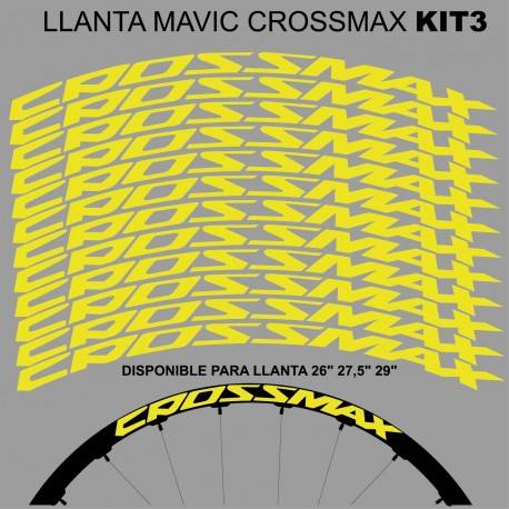 Mavic Crossmax Kit3