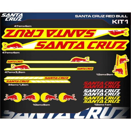 SANTA CRUZ RED BULL KIT1