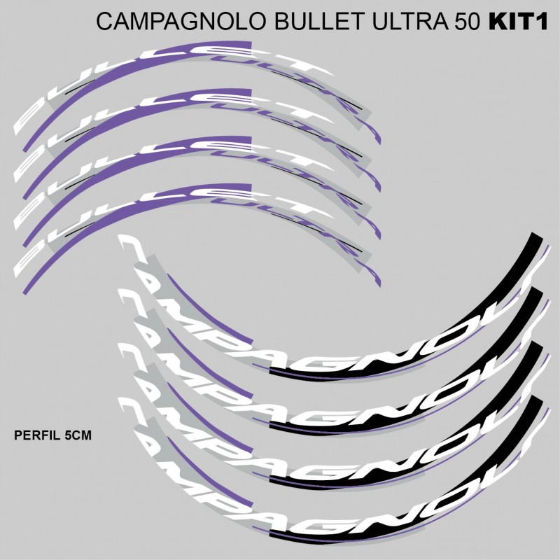 Campagnolo Bullet Ultra 50 Stickers